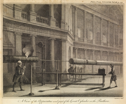 Electrical apparatus 1778 ©The Royal Society