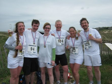 Steve Murdoch and the PGs Chariots of Fire 5k May 2011