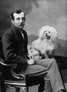 John Hudson FWM and dog