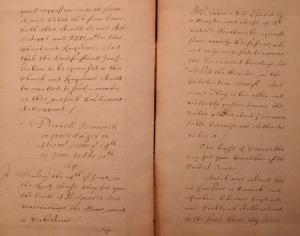 Danish Rigsarkiv, TKUA, England, AIII. Copy of a Journal of the English Parliament, 7 November 1640 - 24 July 1641