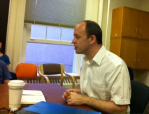 James Palmer teaching 2