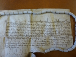 A fifteenth century document from the reign of James III.