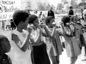 Panther Girls, Oakland, 1969.