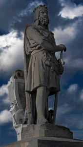 It's not all about this fellow; Robert the Bruce, photo taken by Graeme Bird. CC BY-NC-ND 2.0
