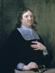 Portrait of Henry Oldenburg, 1668, by Jan van Cleve © The Royal Society.